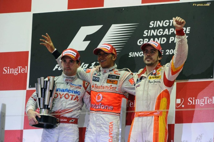 SINGAPORE GRAND PRIX F1/2009 -  SINGAPORE 27/09/2009
